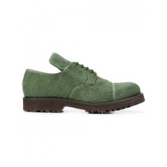 Holland & Holland Women's Walking Shoes GREEN Leather 100% AWSH1781FF012