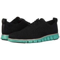 QWDOAWG Cole Haan Zerogrand Stitchlite Oxford Black/Pool Green 8869523