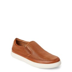 donald pliner Saddle Corbyn Perforated Slip-On Sneakers Saddle 5121-4161
