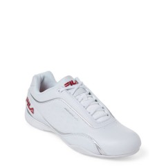 fila White & Red Kalien Motorsport Low-Top Sneakers White Red Silver 5504-4894