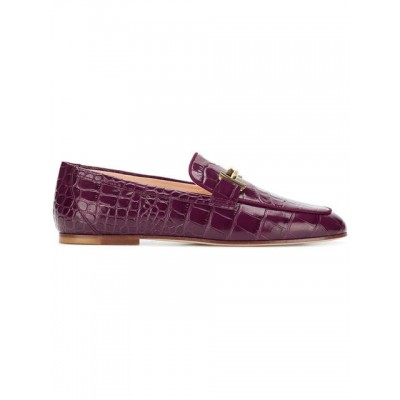 Tod's croc-effect loafers R810 MOSTO Leather 100% XXW79A0Z370JO9