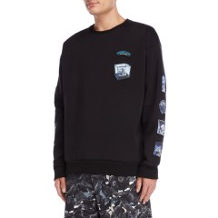 this is not clothing Paradise Lost Patches Sweater Black 8505-2342